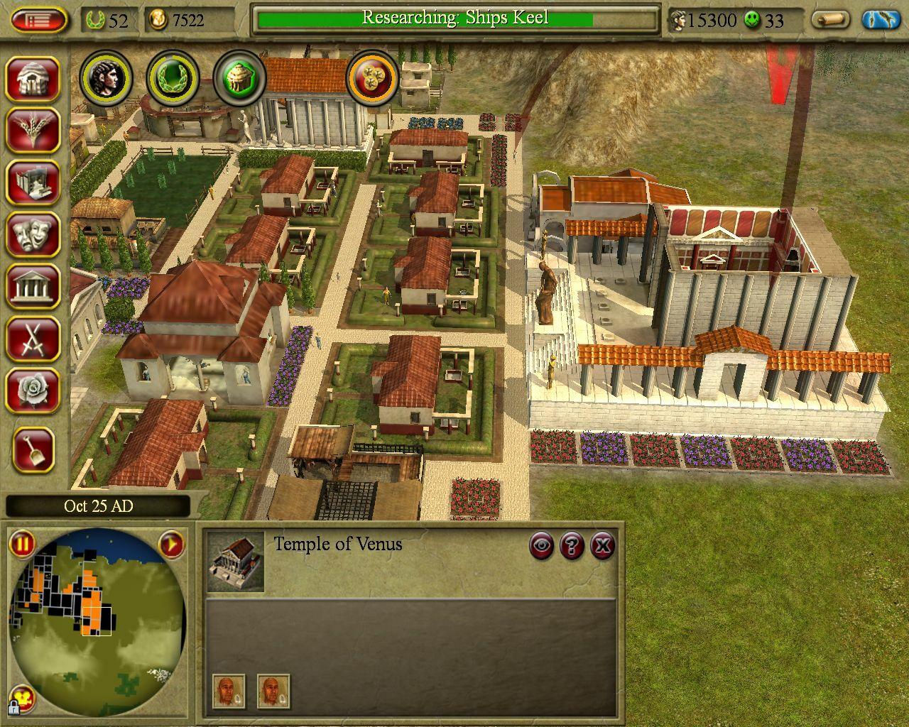 CivCity: Rome screenshot 2