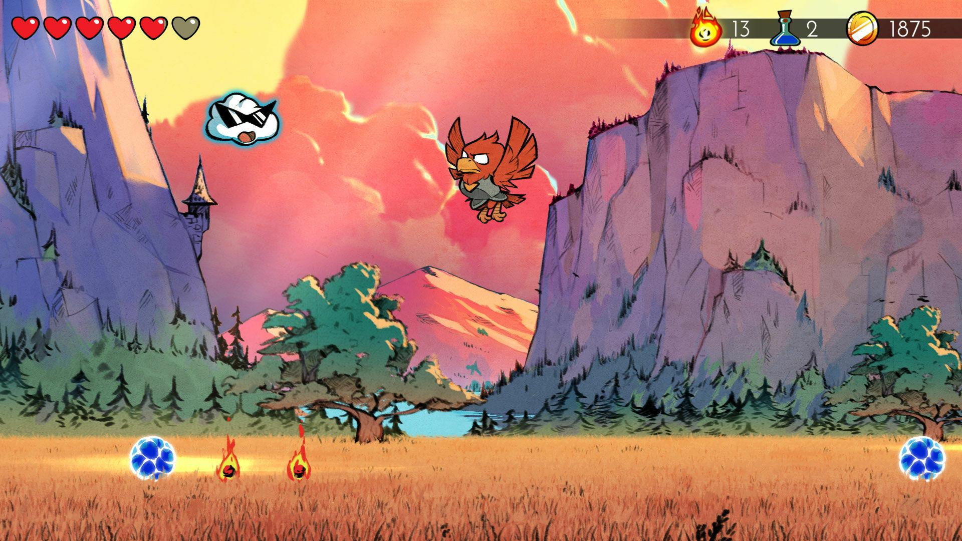 Wonder Boy: The Dragon's Trap Captura 3