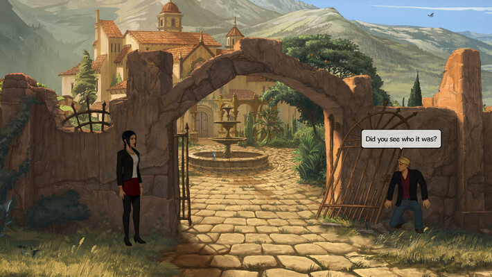 Broken Sword 5 - the Serpent's Curse screenshot 2