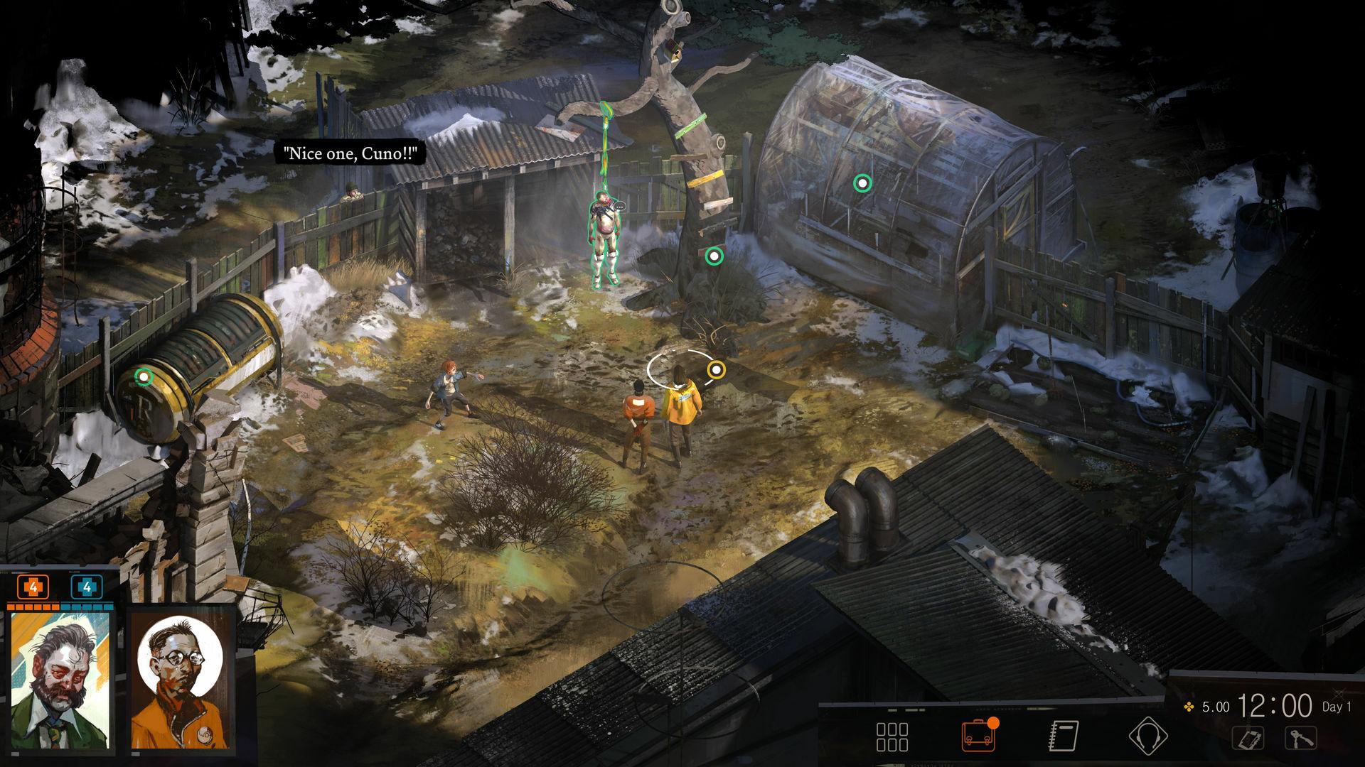 Disco Elysium screenshot 1