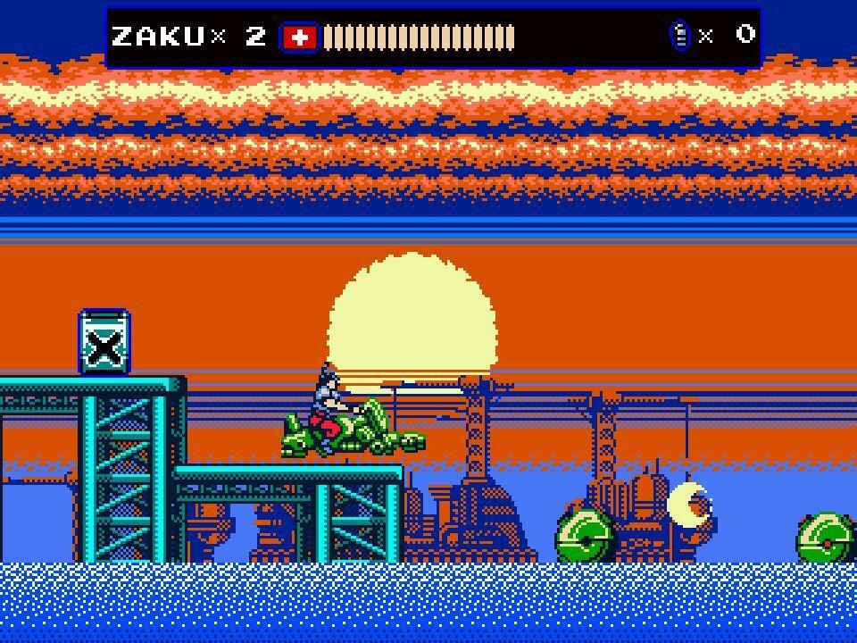 Oniken screenshot 1