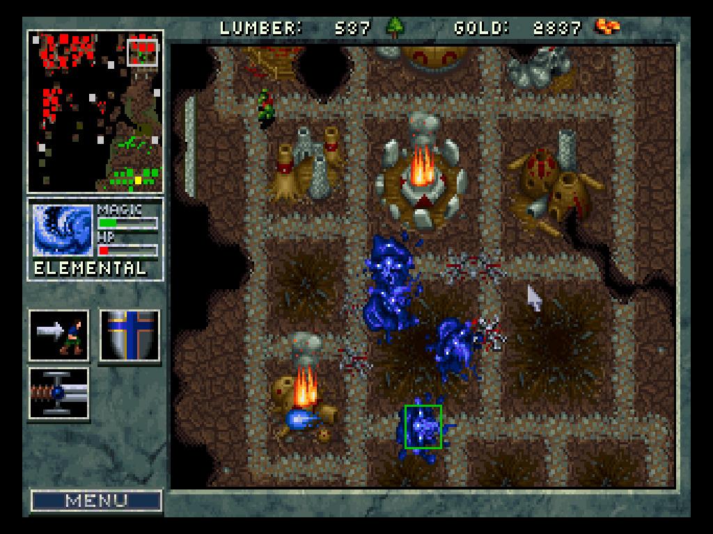 Warcraft: Orcs and Humans screenshot 2