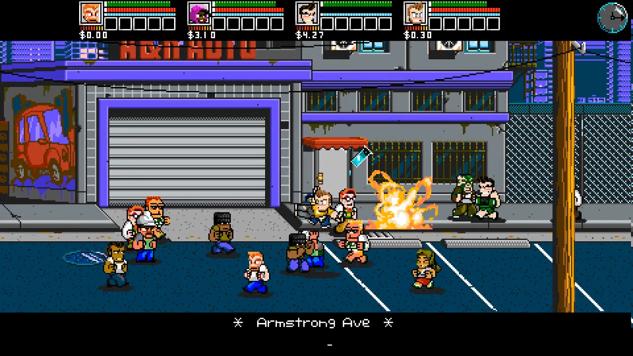 River City Ransom: Underground screenshot 1