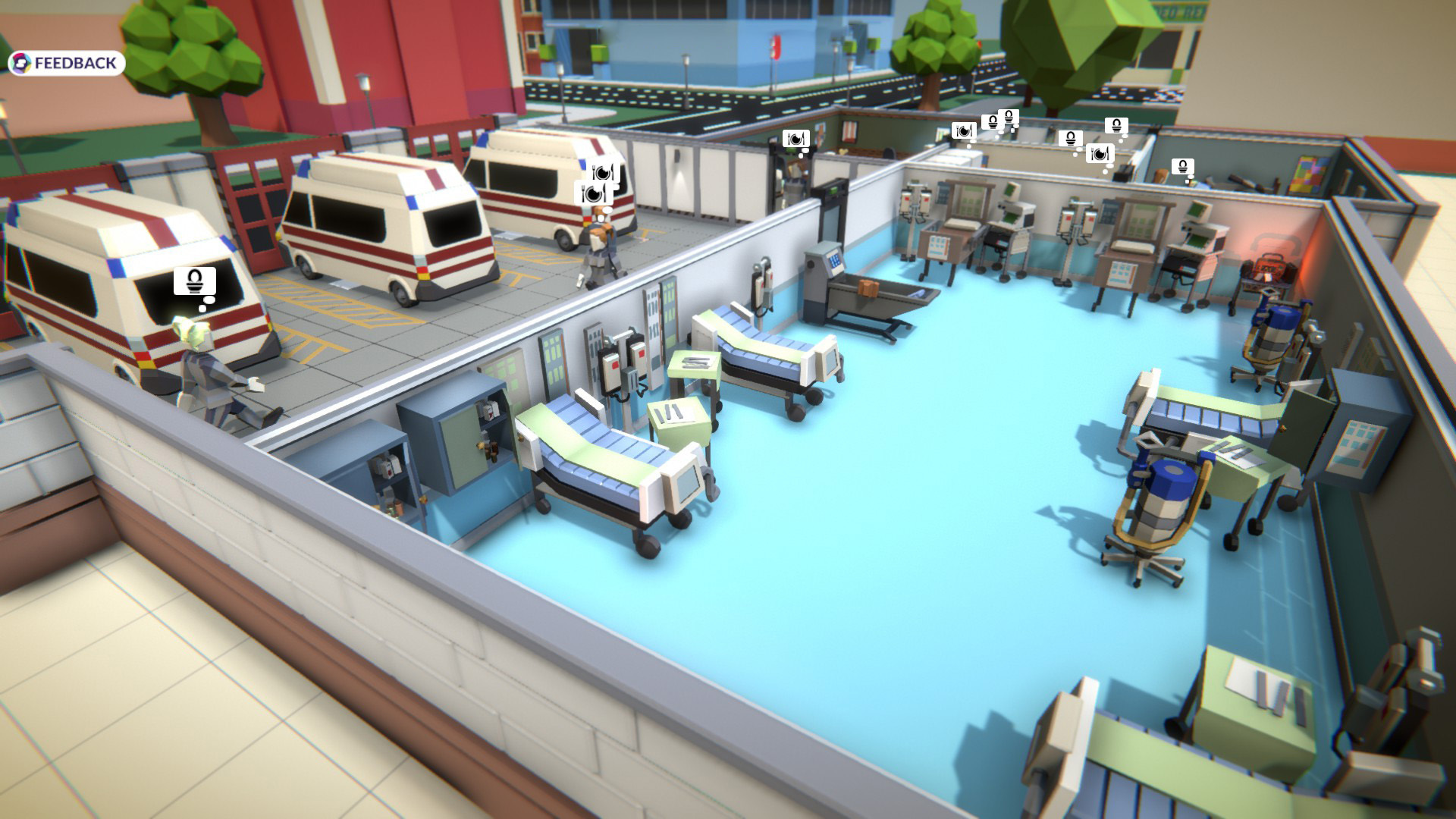 Rescue HQ - The Tycoon screenshot 3