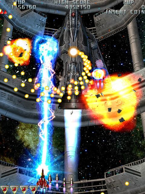 Raiden III Digital Edition screenshot 2
