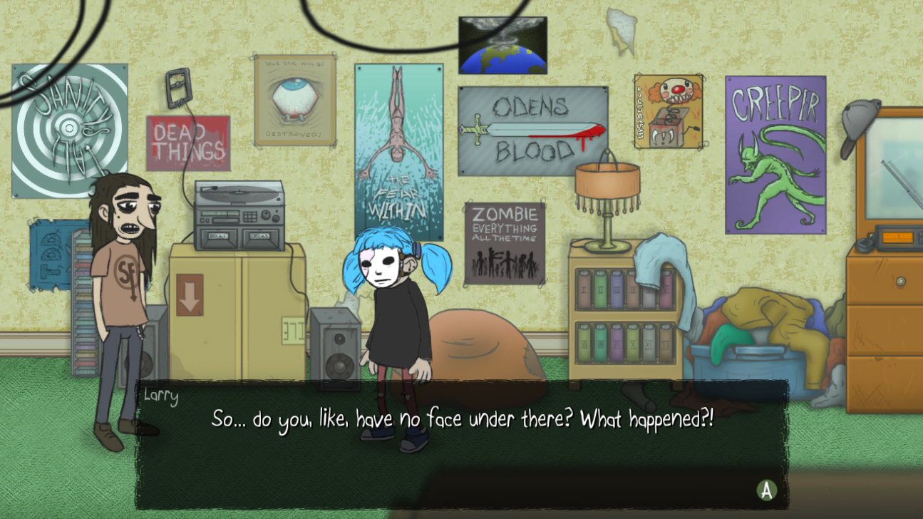 Sally Face screenshot 2