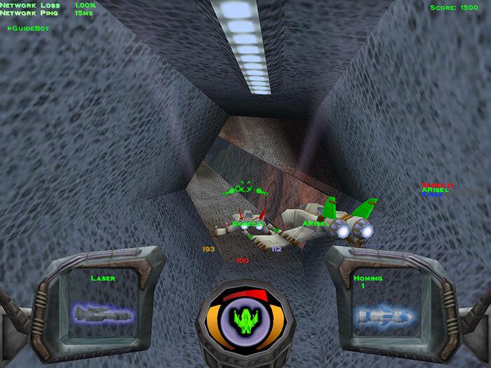 Descent 3 + Mercenary screenshot 1