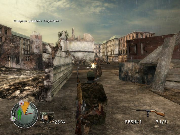 Sniper Elite: Berlin 1945 screenshot 1