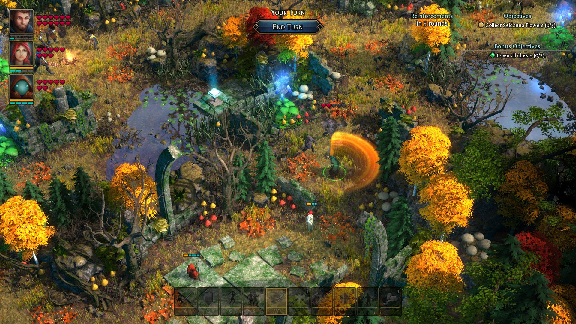 Druidstone: The Secret of the Menhir Forest screenshot 3