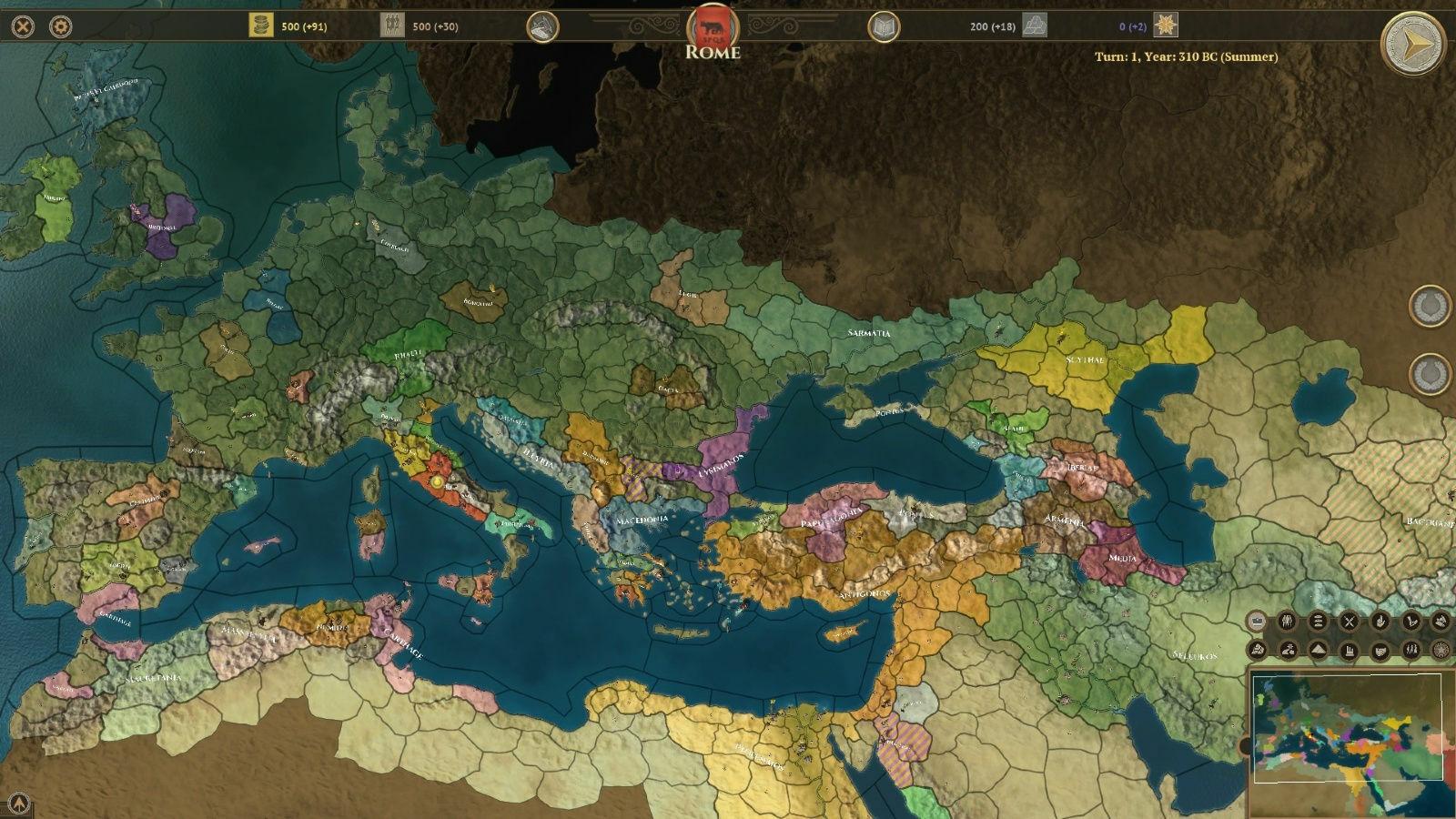 Field of Glory: Empires screenshot 1