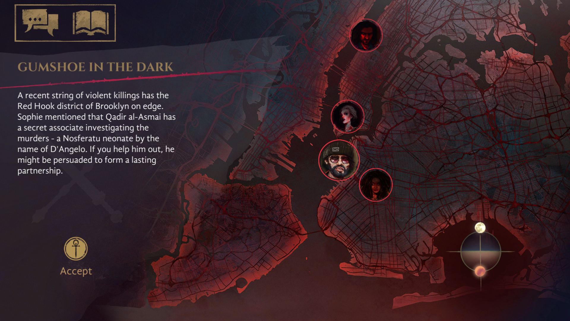 Vampire: The Masquerade - Coteries of New York screenshot 2