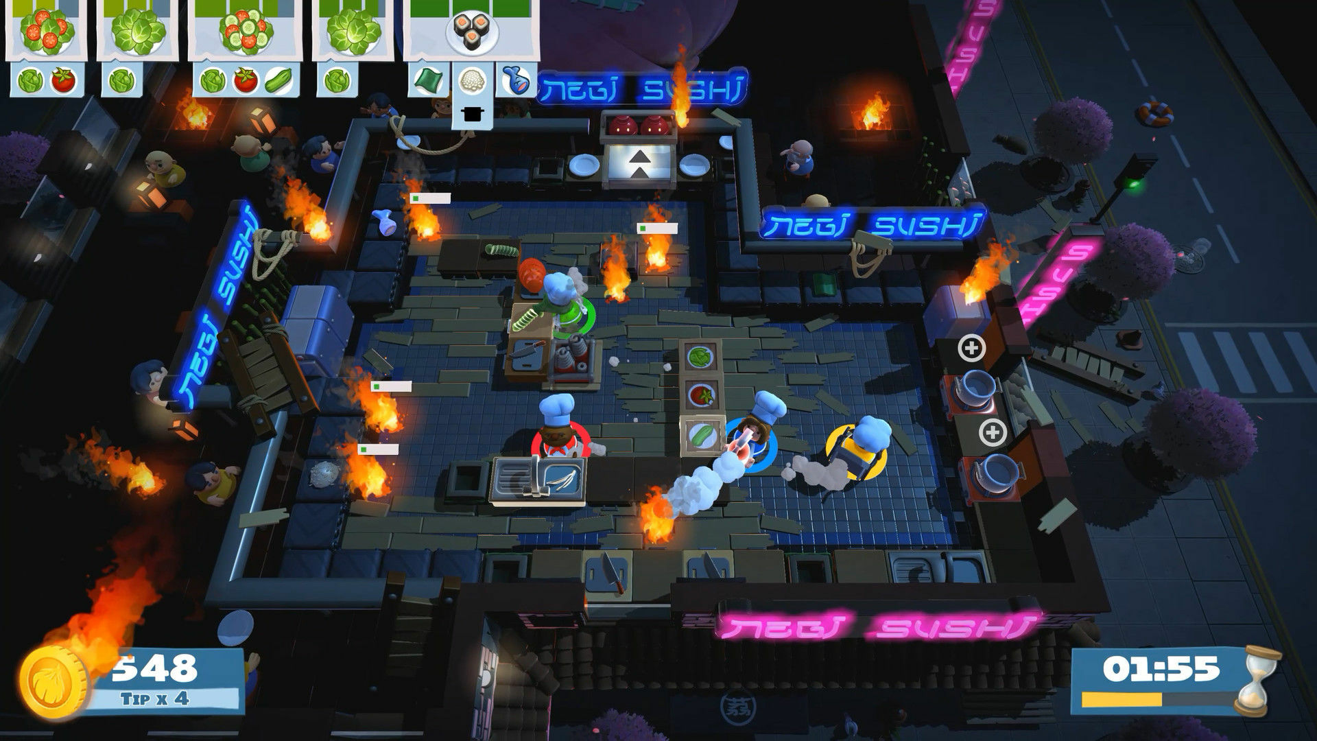 Overcooked! 2 screenshot 1