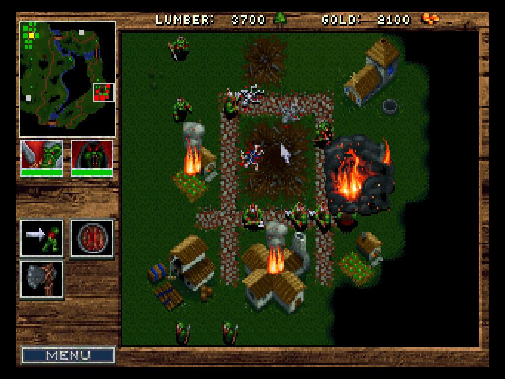 Warcraft: Orcs and Humans screenshot 1