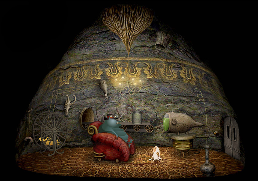 Amanita Design Collection (Samorost 2 / Machinarium / Botanicula / Samorost 3 / CHUCHEL) [GoG] [2009-2018|Multi]