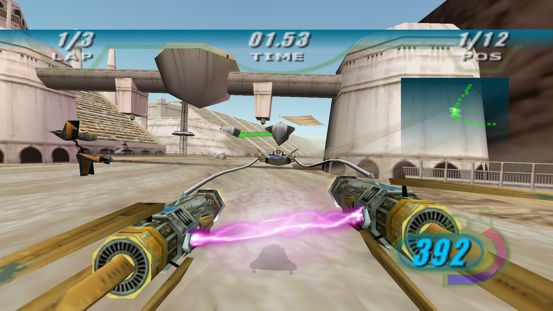 STAR WARS Episode I: Racer screenshot 1