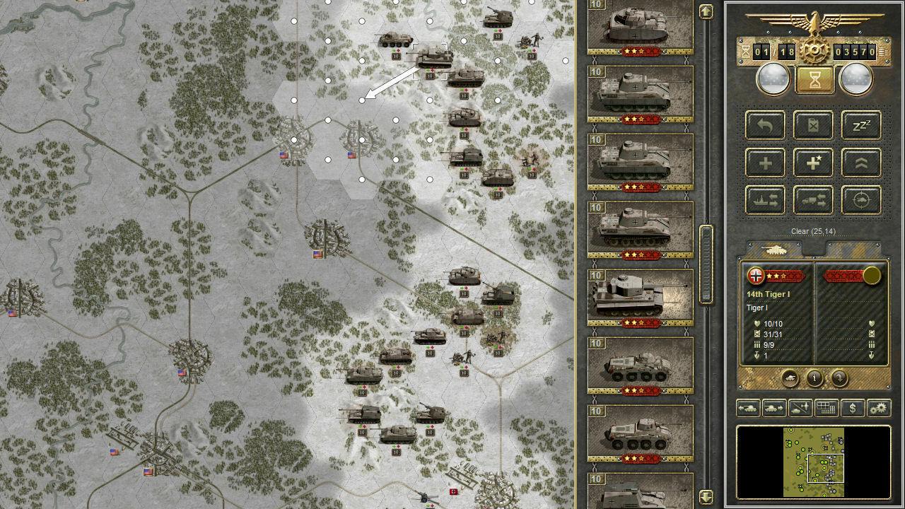 Panzer Corps screenshot 3