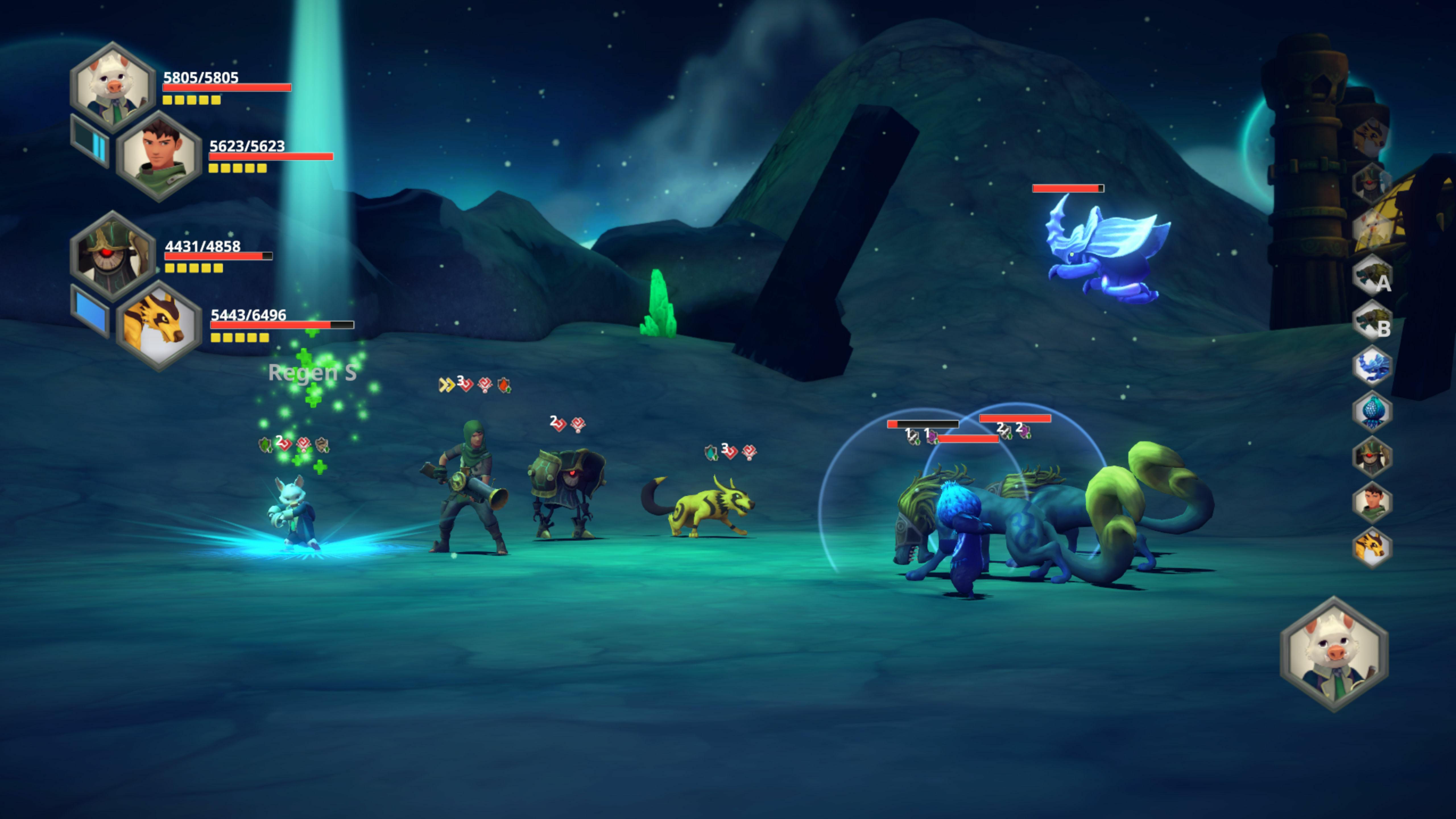Earthlock screenshot 1