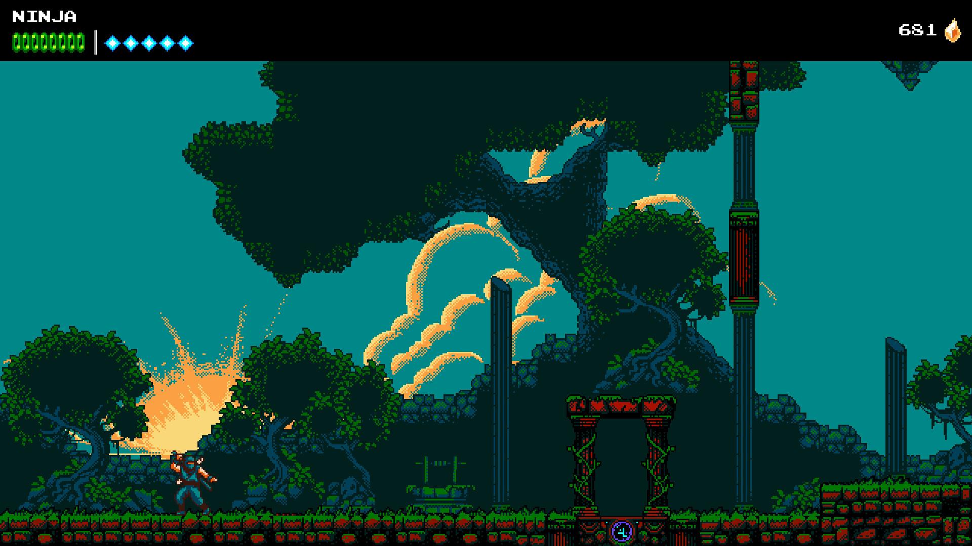 The Messenger screenshot 1