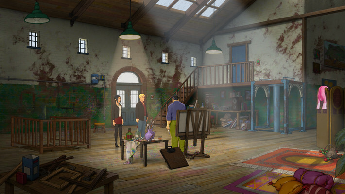 Broken Sword 5 - the Serpent's Curse screenshot 3