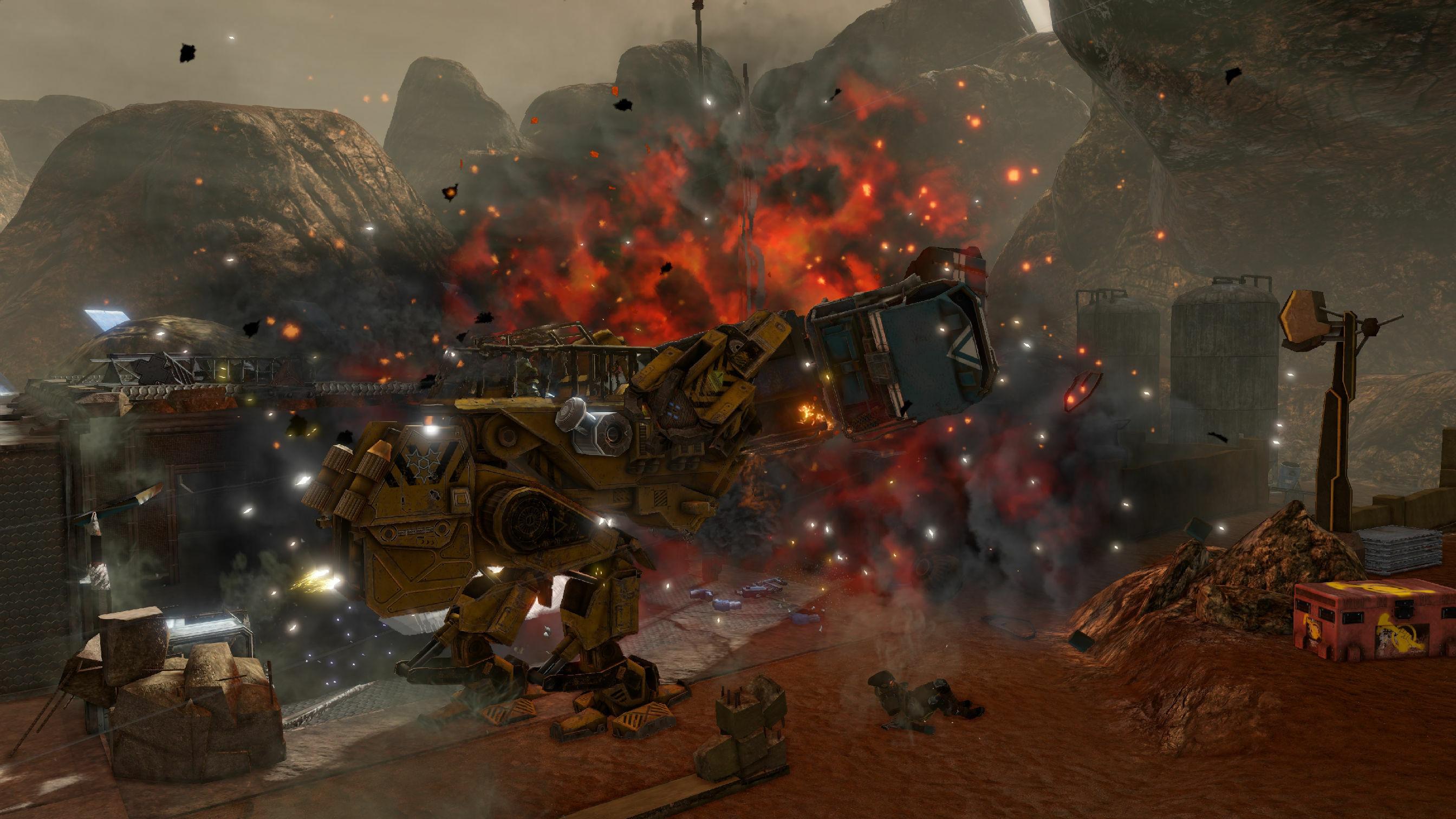 Red Faction Guerrilla Re-Mars-tered screenshot 3