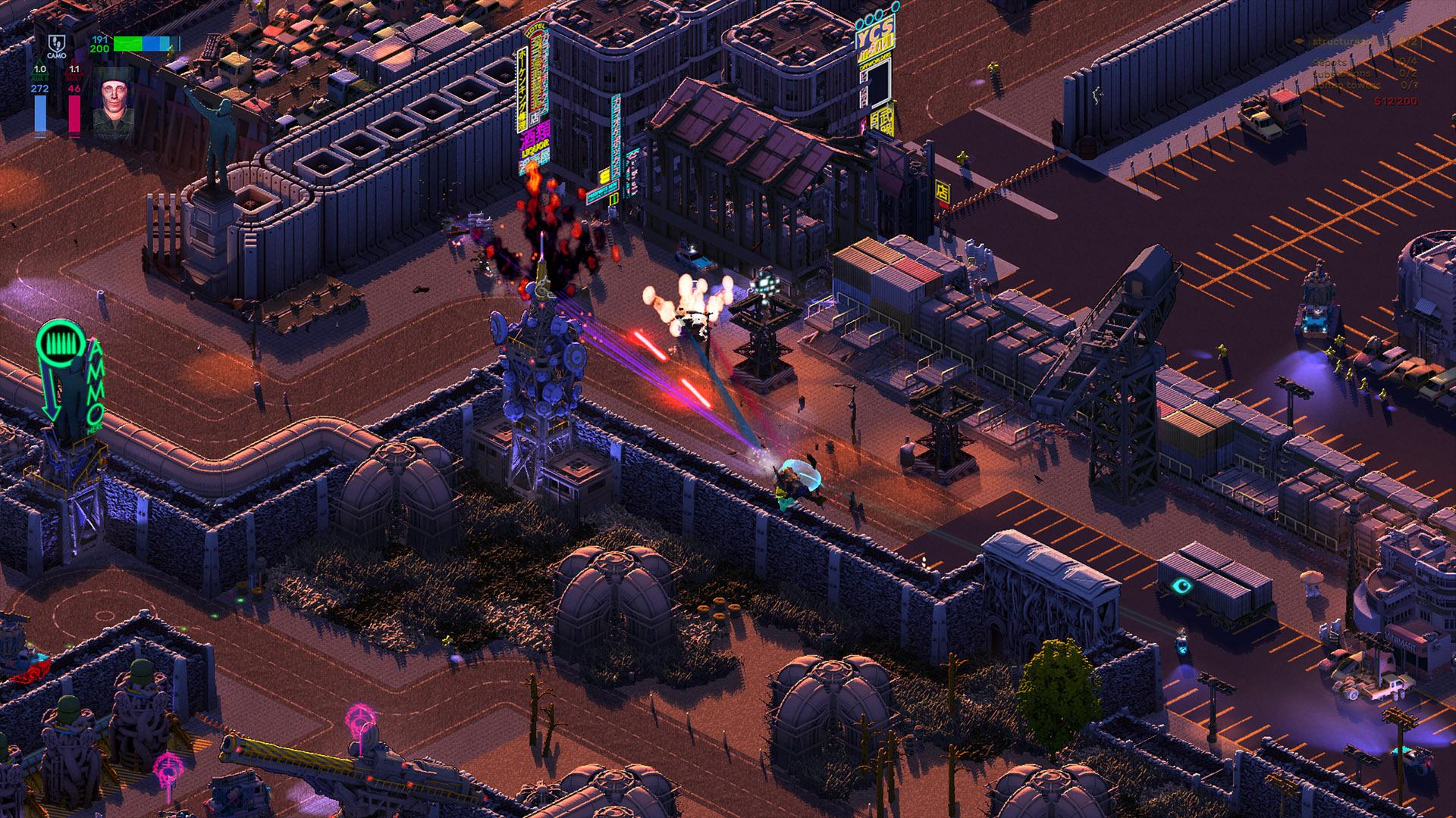 Brigador: Up-Armored Edition screenshot 1