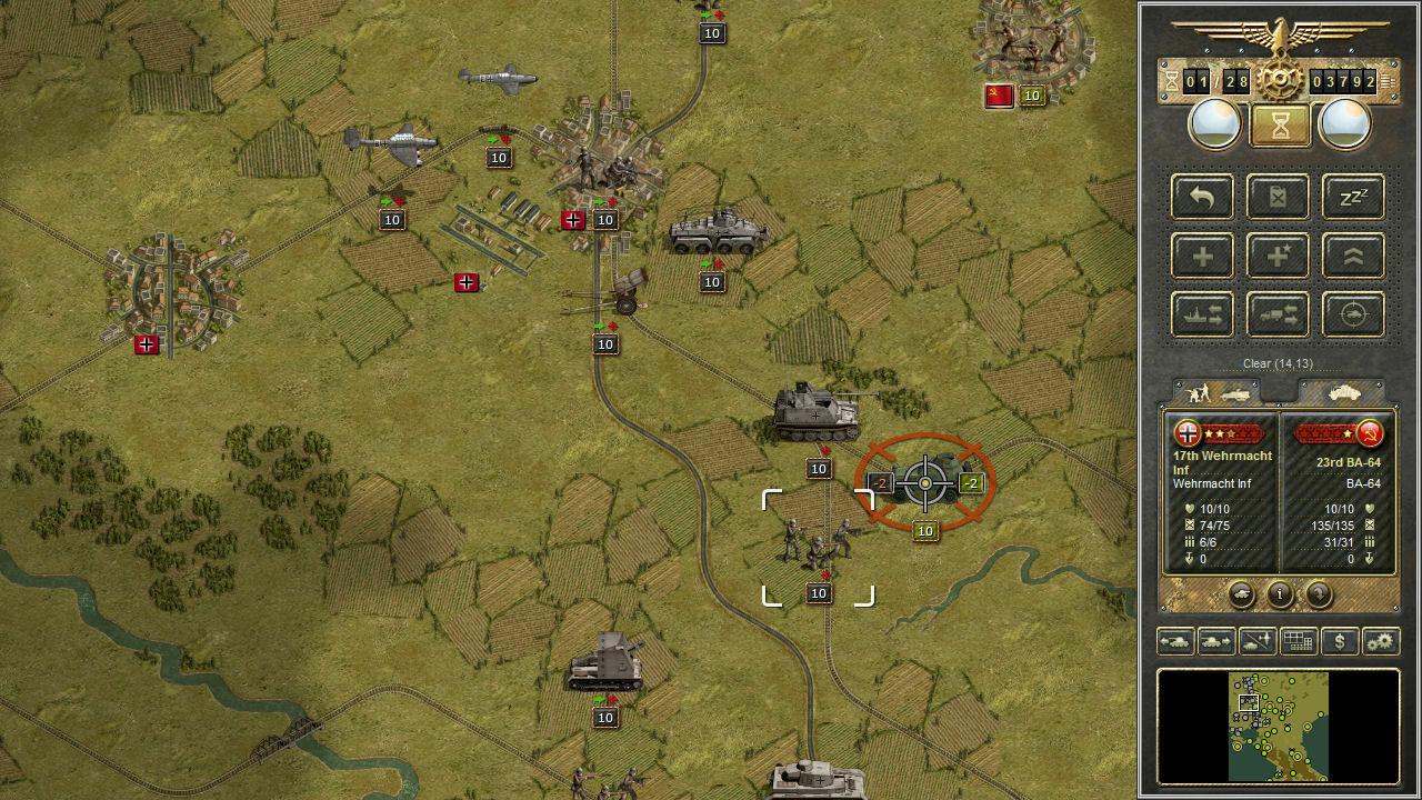 Panzer Corps screenshot 1