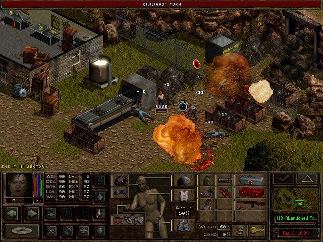 Jagged Alliance 2: Unfinished Business screenshot 1