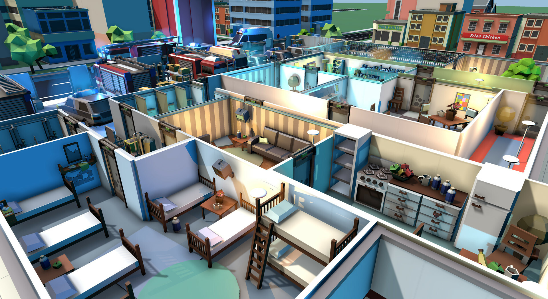Rescue HQ - The Tycoon screenshot 2