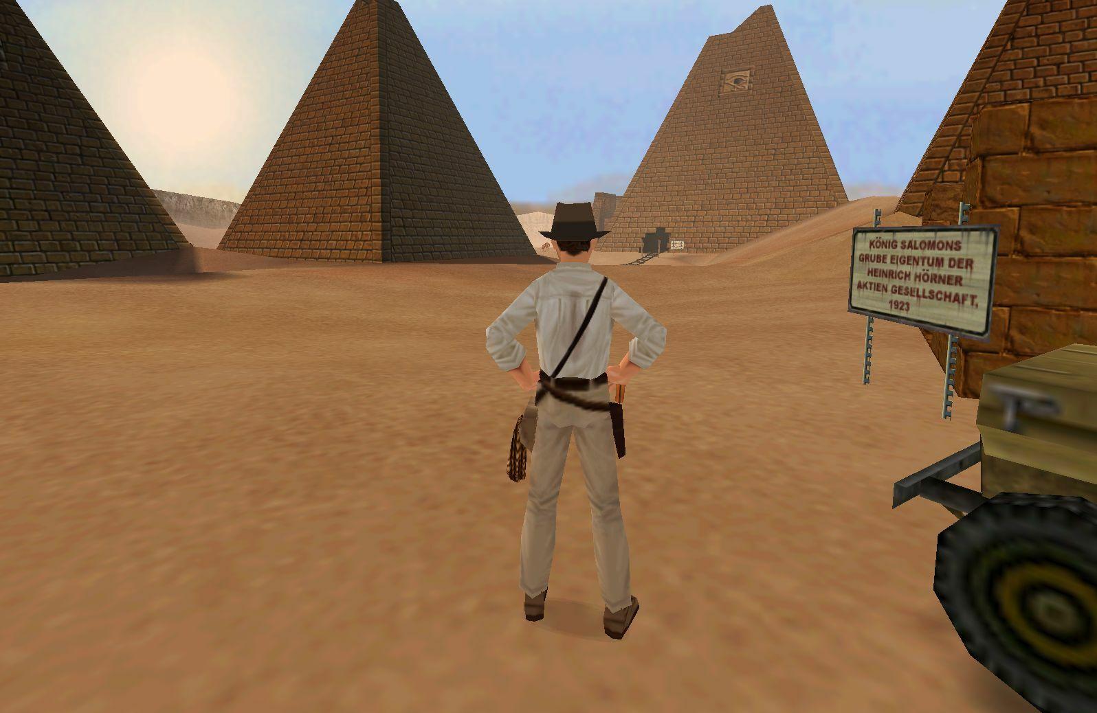 Indiana Jones and the Infernal Machine screenshot 1
