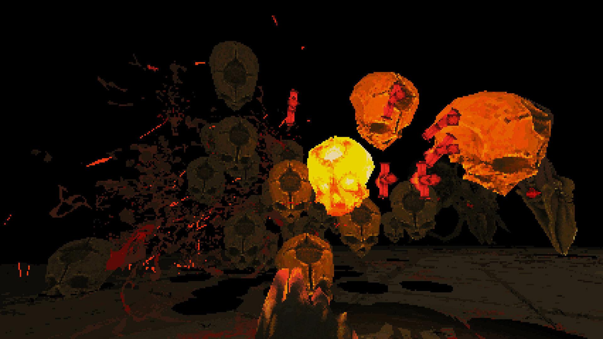 Devil Daggers screenshot 1