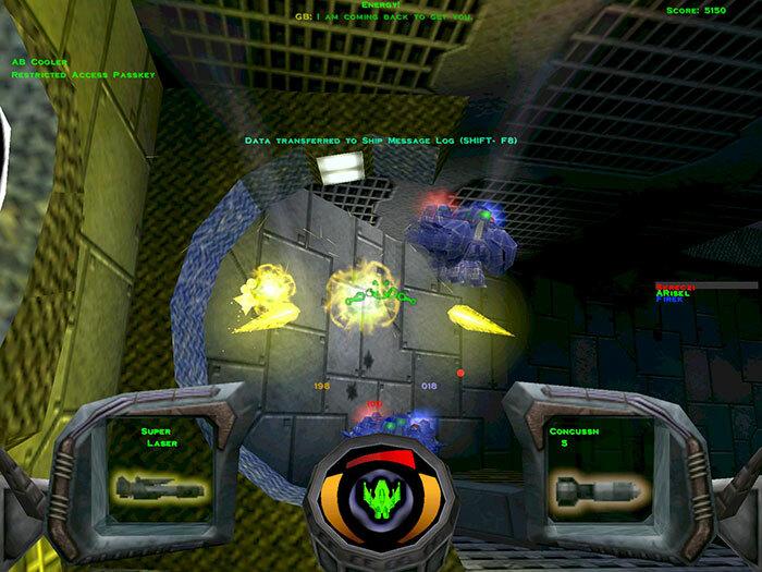 Descent 3 + Mercenary screenshot 3
