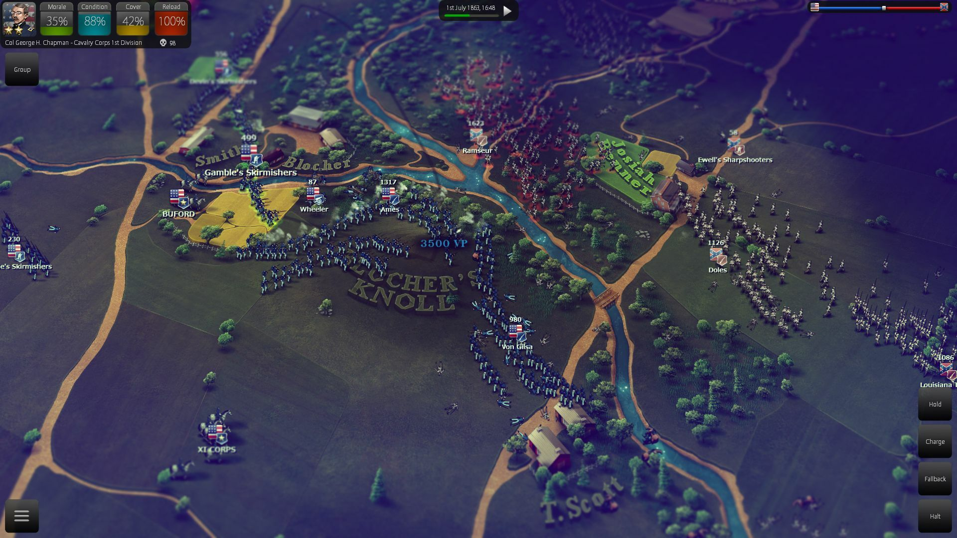 Ultimate General: Gettysburg screenshot 2