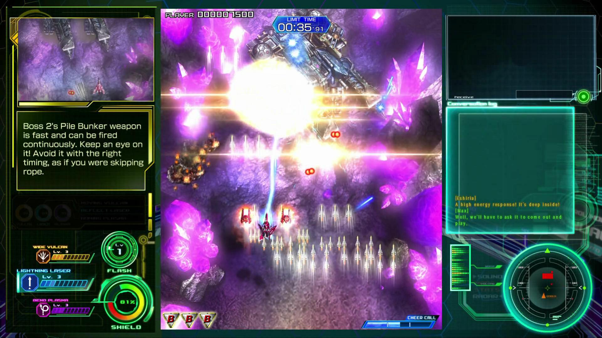 Raiden V: Director's Cut screenshot 2