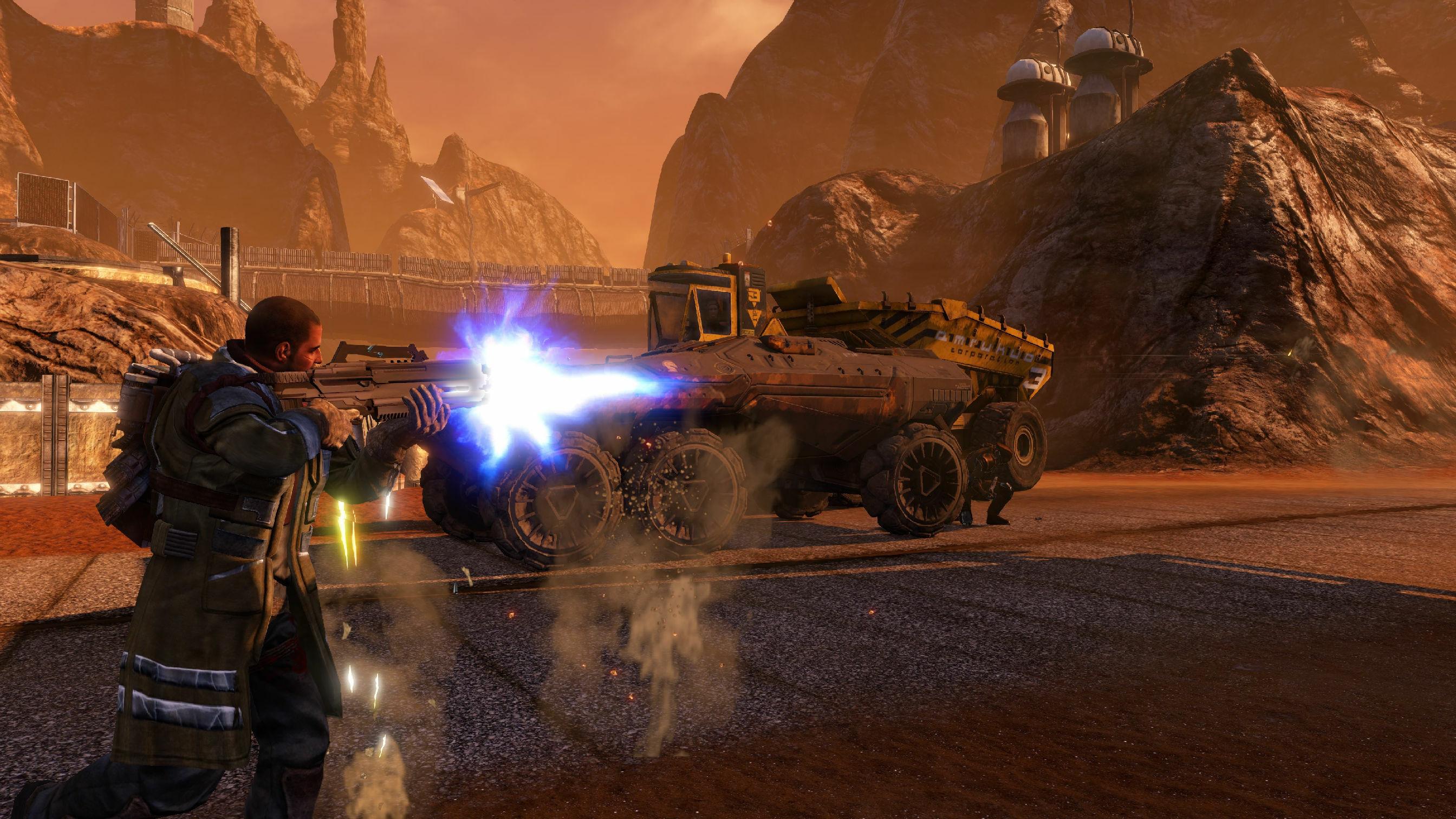 Red Faction Guerrilla Re-Mars-tered screenshot 2