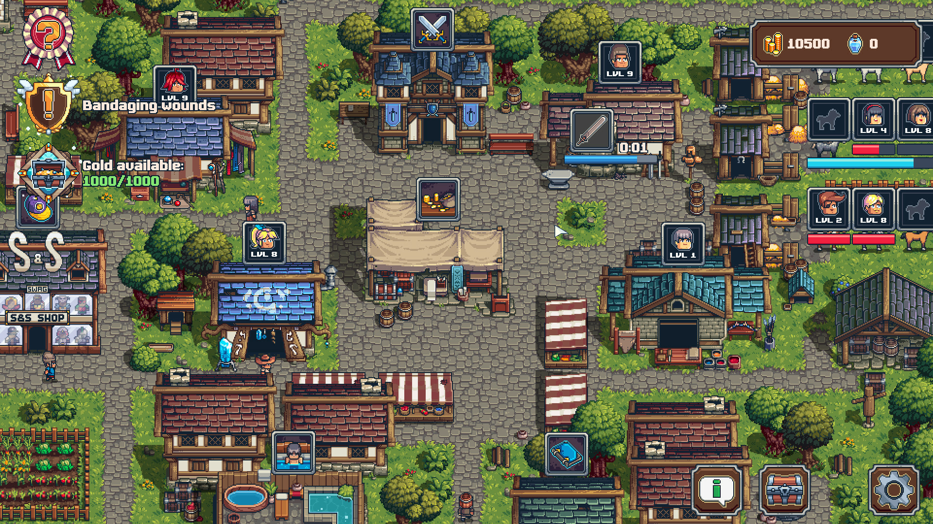 Swag and Sorcery screenshot 3