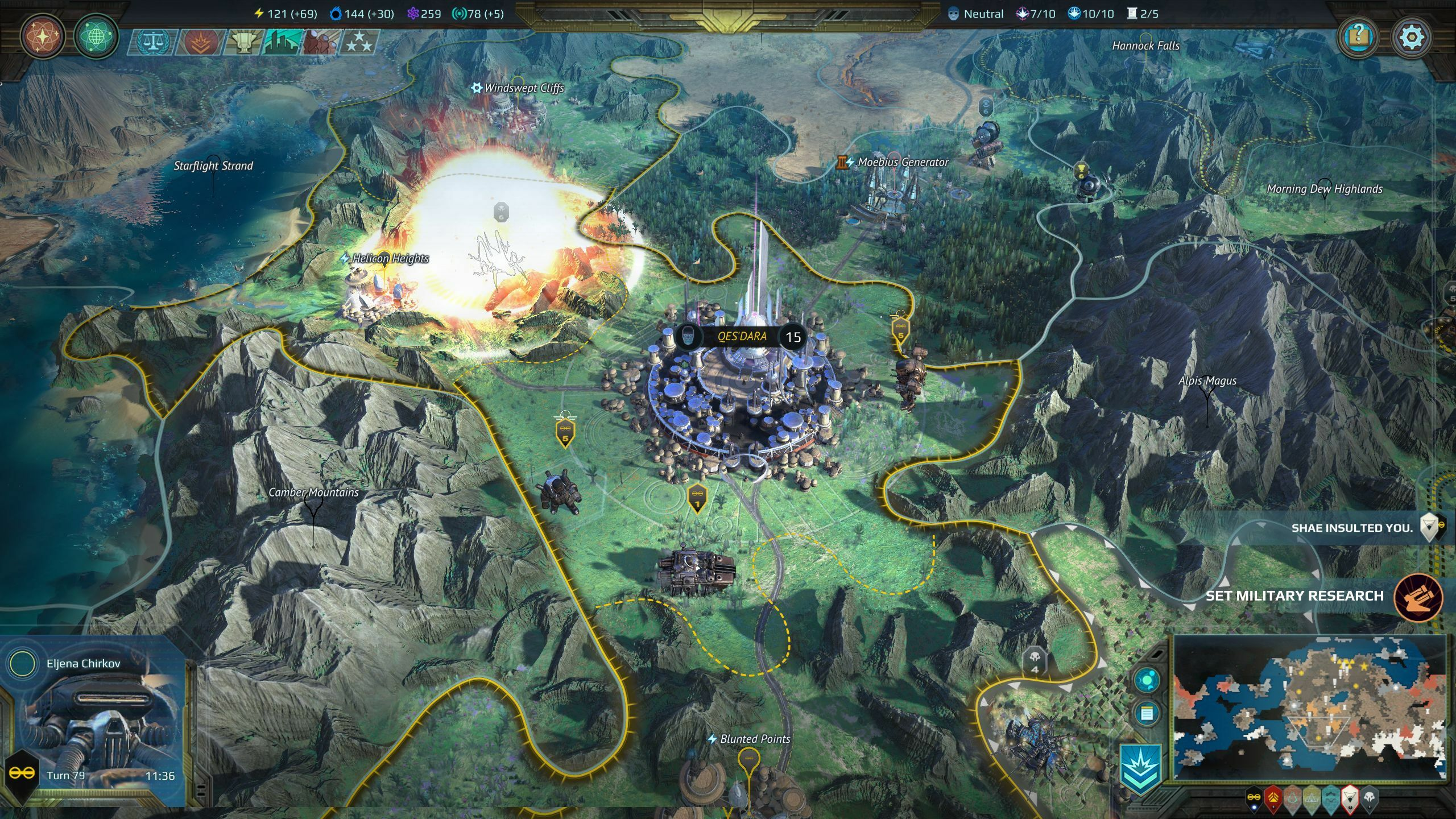Age of Wonders: Planetfall - Premium Edition screenshot 1