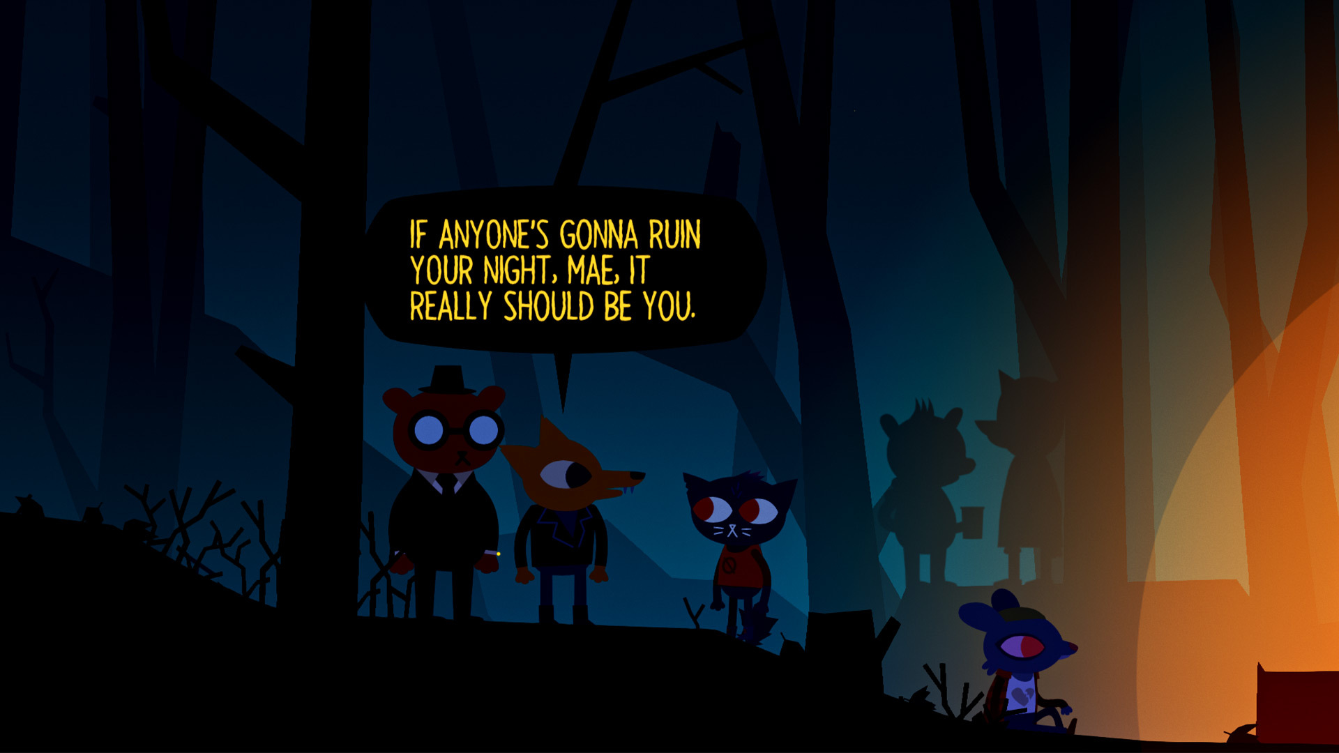 Night in the Woods: Weird Autumn Edition [GoG] [2017|Eng]