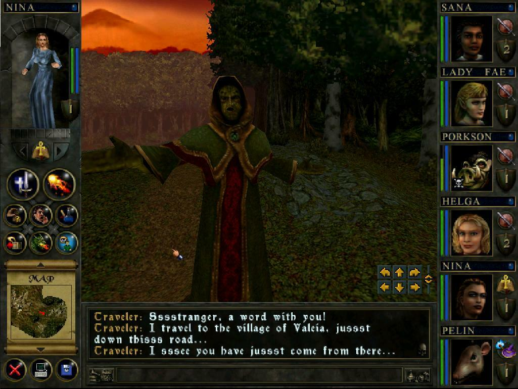 Wizards & Warriors screenshot 1