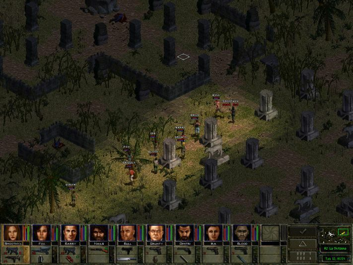 Jagged Alliance 2: Wildfire Captura 2