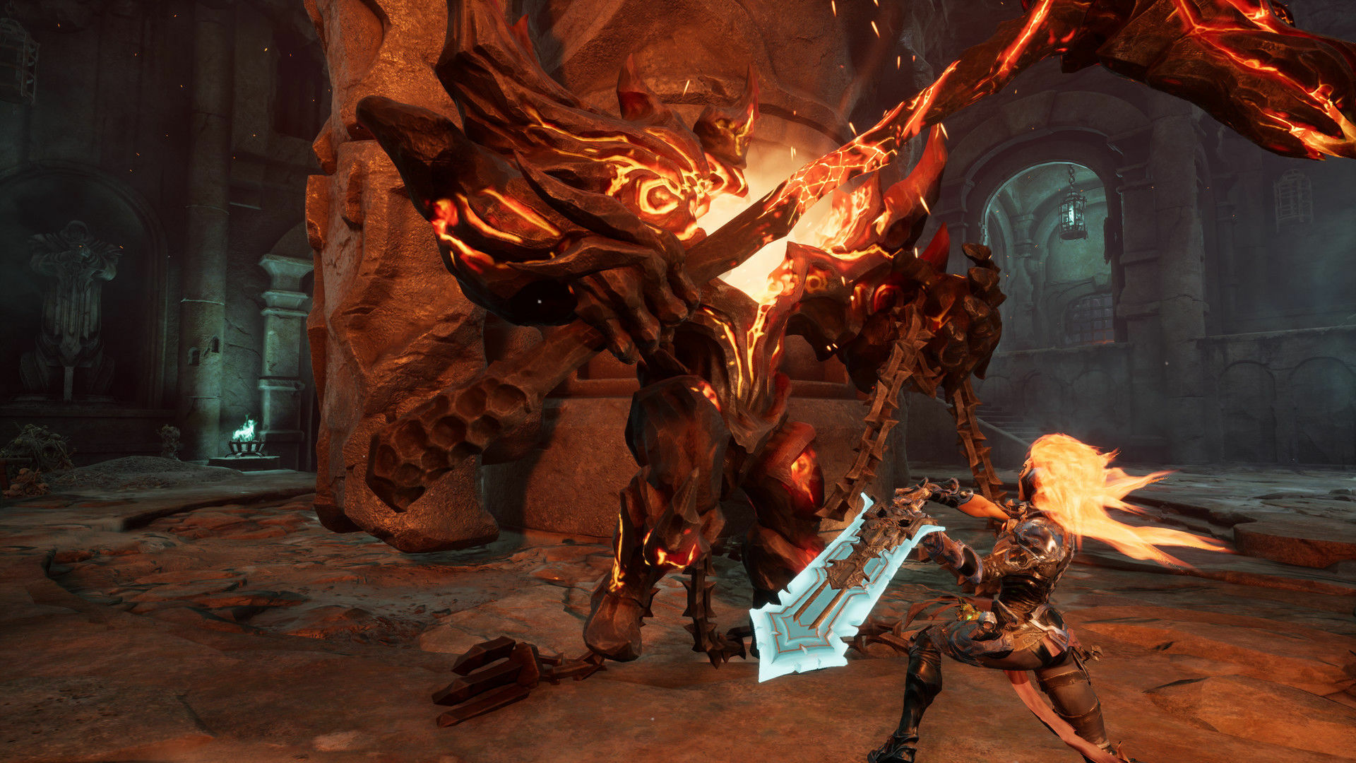 Darksiders III Deluxe Edition screenshot 2