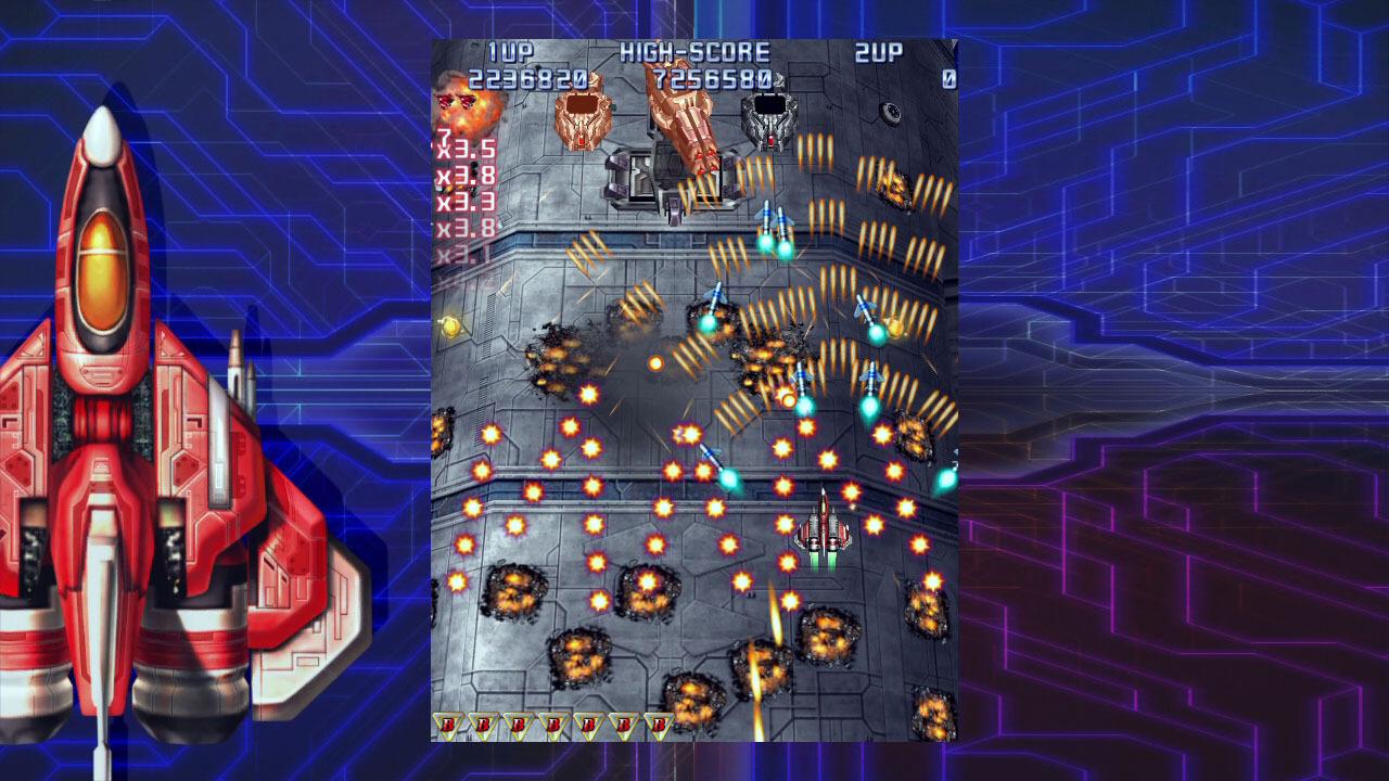 Raiden IV: OverKill screenshot 1