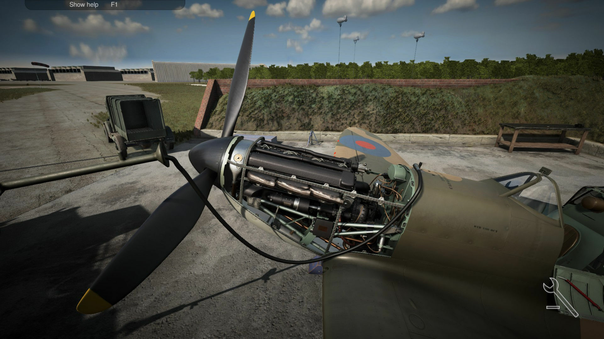 Plane Mechanic Simulator screenshot 1