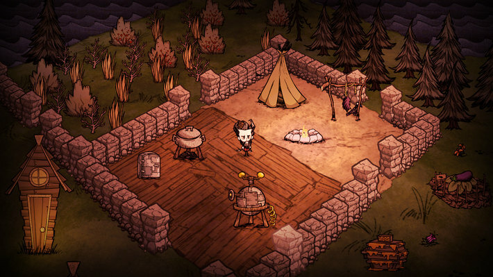 Don't Starve: Alone Pack [GoG] [2013|Rus|Eng]