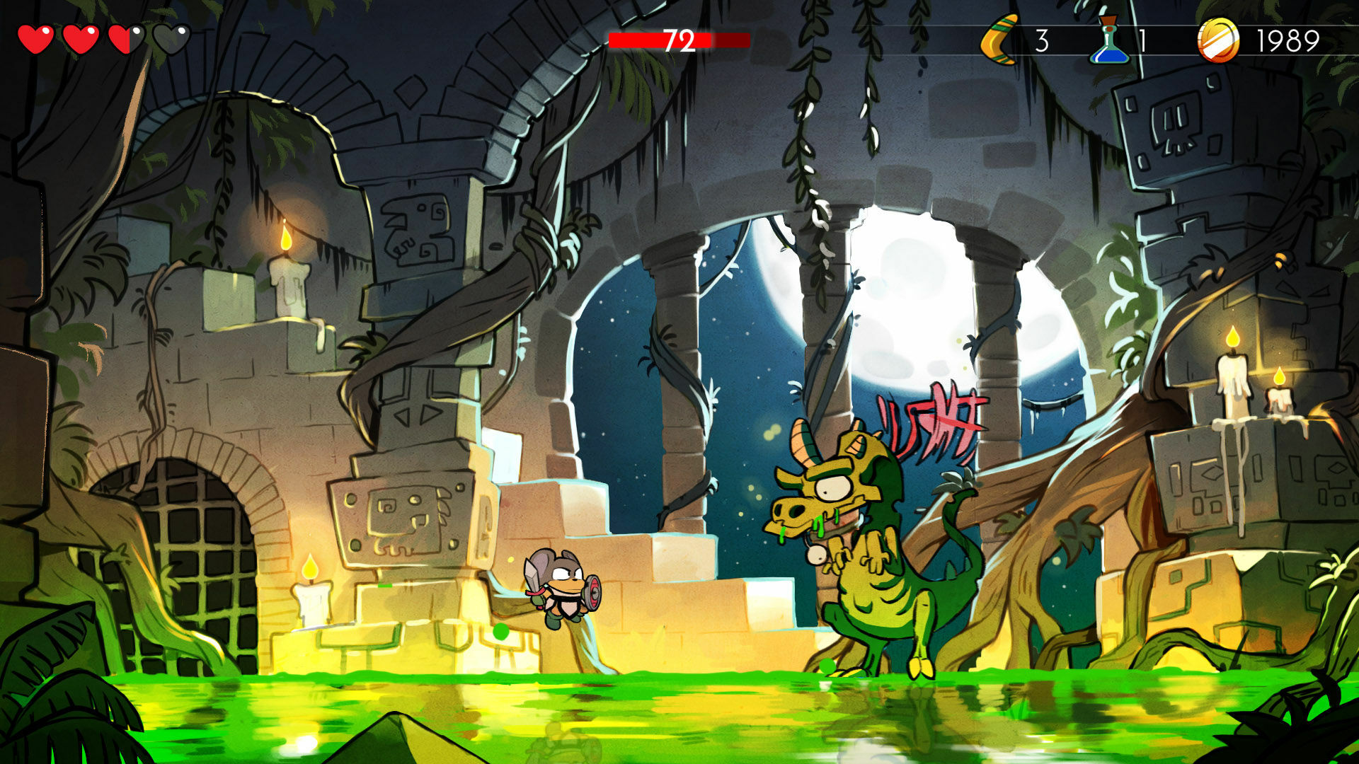 Wonder Boy: The Dragon's Trap Captura 1