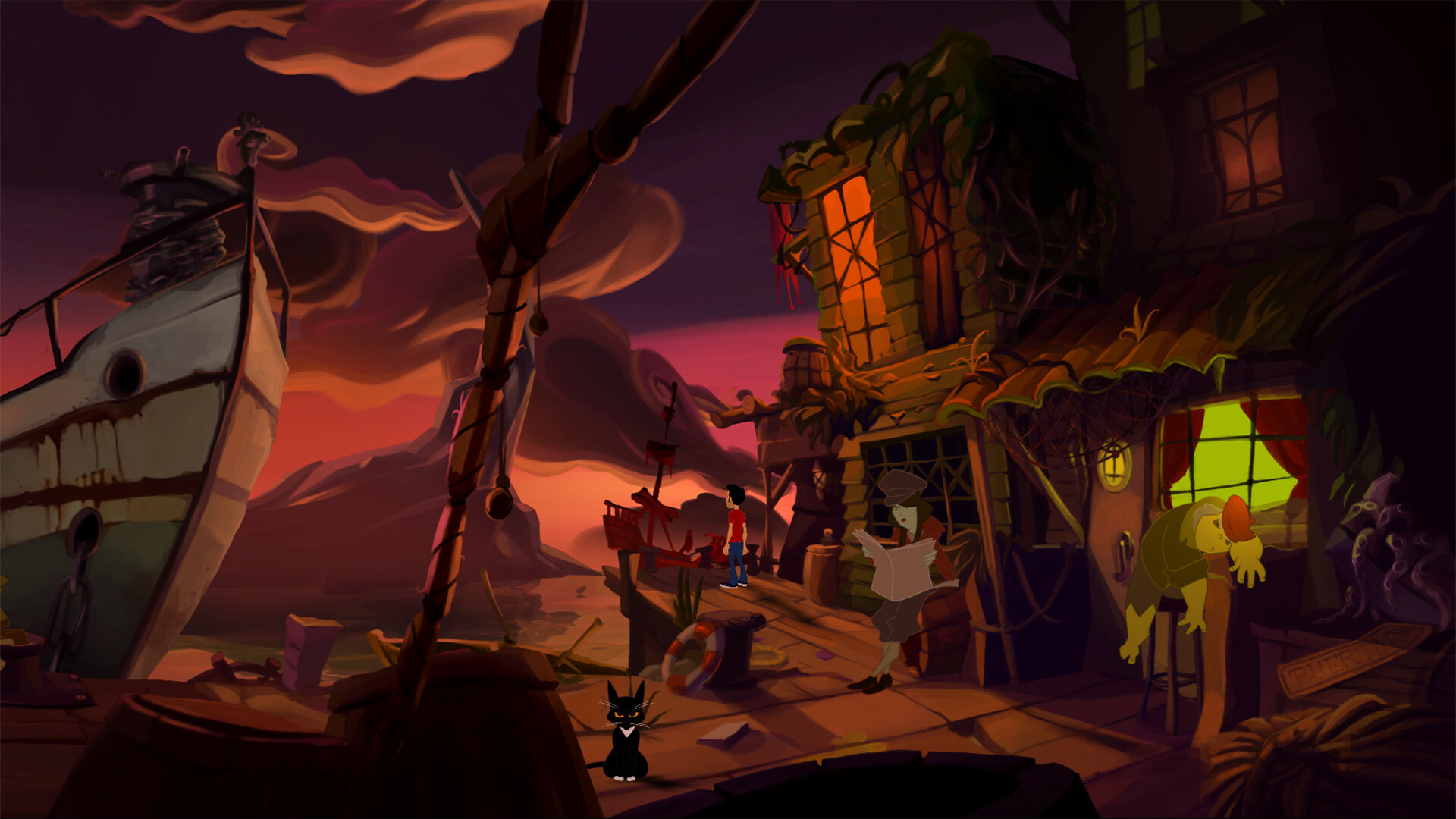 Gibbous - A Cthulhu Adventure Deluxe Edition screenshot 3