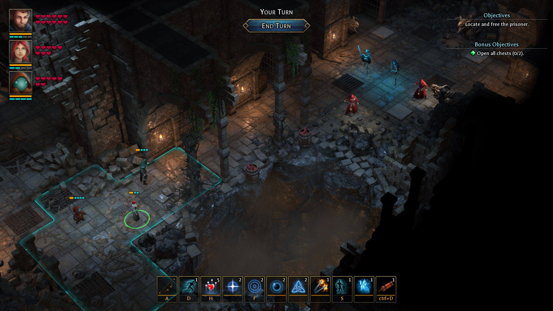 Druidstone: The Secret of the Menhir Forest screenshot 1