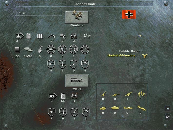 Panzer General 2 screenshot 3
