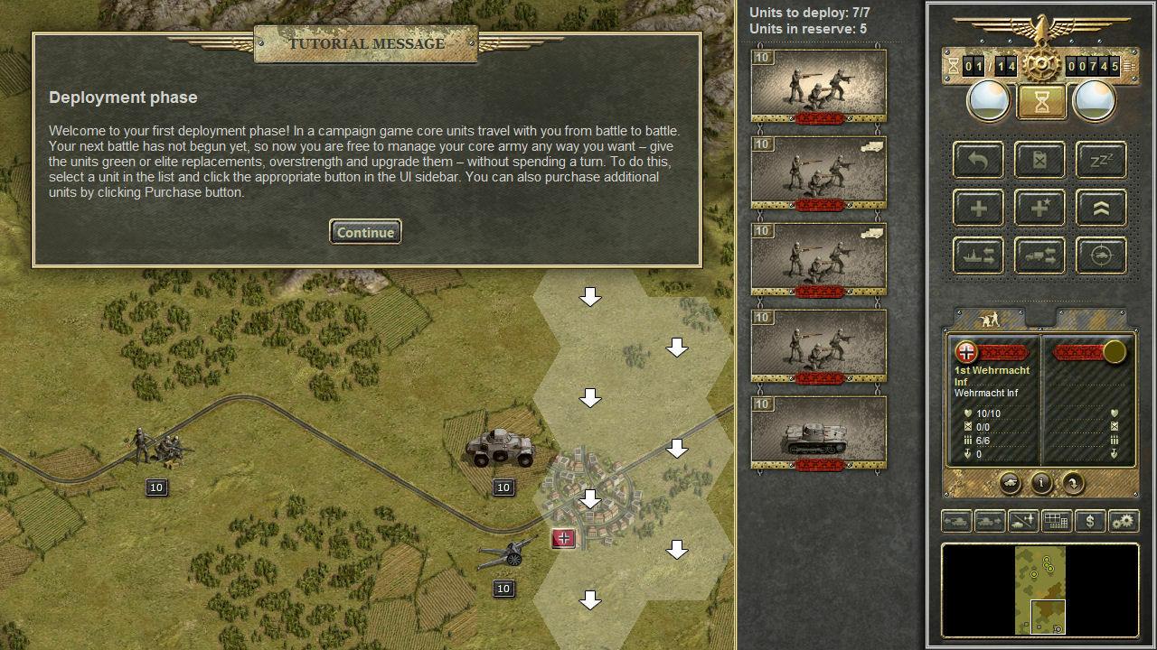 Panzer Corps screenshot 2