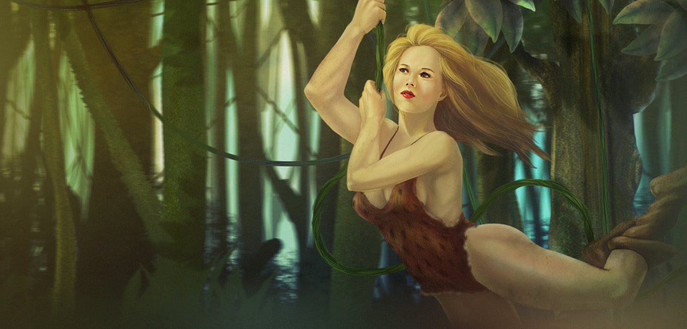Jill of the Jungle - The Complete Trilogy (Free)