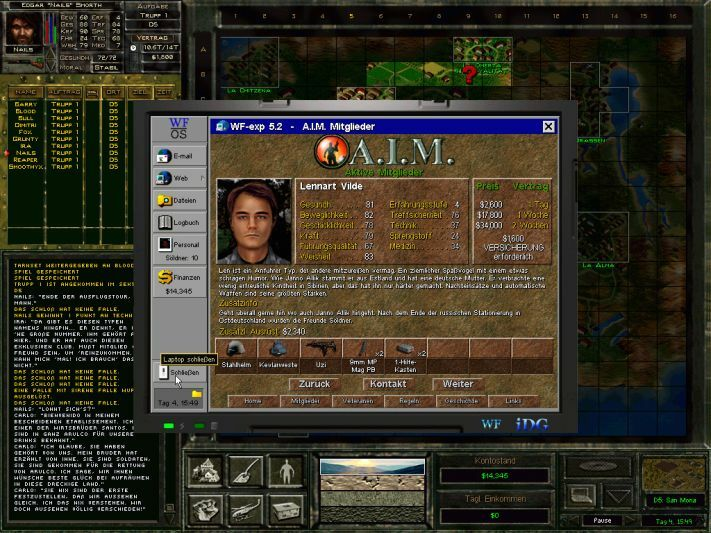 Jagged Alliance 2: Wildfire screenshot 3